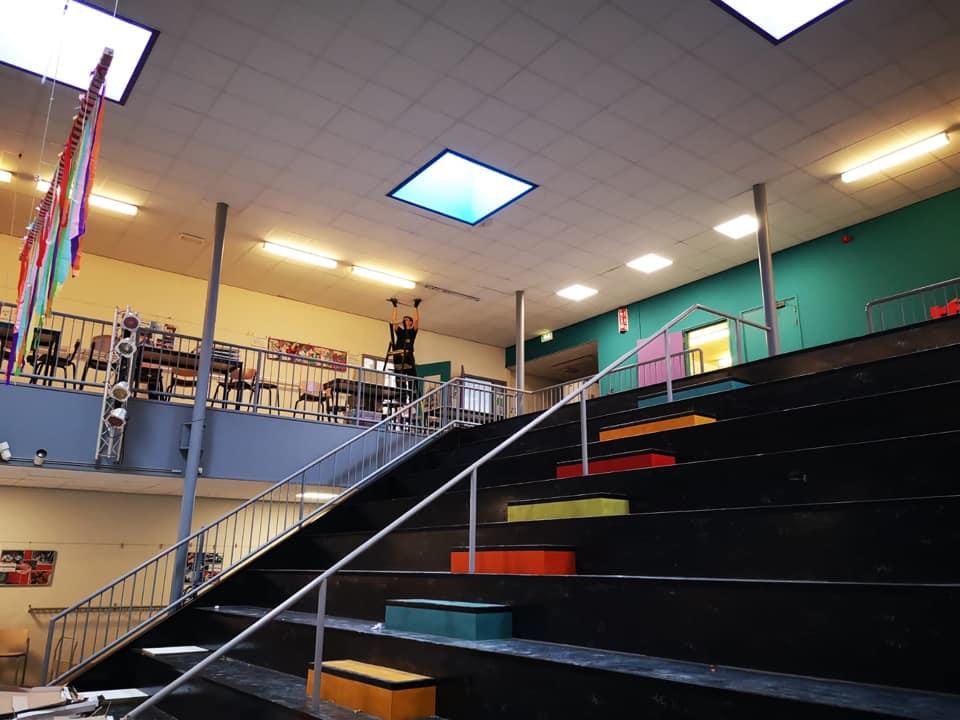 Basisschool De Wereldwijzer; vervangen LED-verlichting